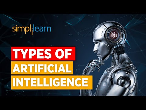 Types Of Artificial Intelligence | Artificial Intelligence Explained | What Is AI? |  Simplilearn