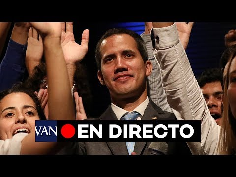 [EN DIRECTO CARACAS] Apoyo de la comunidad juvenil venezolana a Juan Guaidó