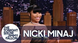 Nicki Minaj Talks ″Megatron,″ Her Latest Album Title and Posing Like a Queen
