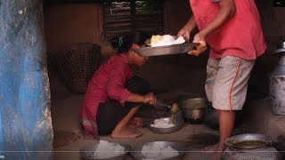 Simple food and simple life in village is better than modern food and modern life ll Rural life