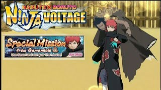 Finishing Gamamichi Special Mission! | Naruto X Boruto Ninja Voltage