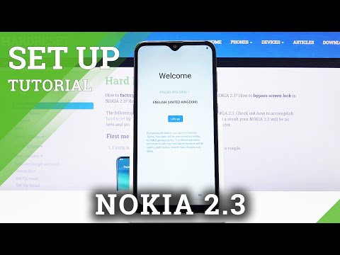 How to Activate Initial Setup in NOKIA 2.3 – Configuration Process