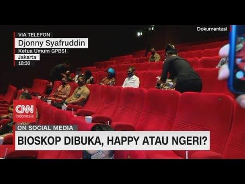 Bioskop Dibuka, Happy Atau Ngeri?