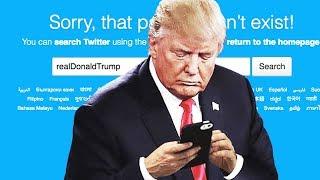 Hero Twitter Employee Deactivates Trump's Account