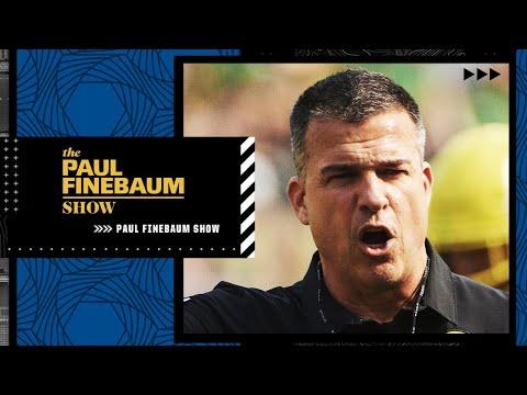 Mario Cristobal talks Oregon beating Ohio State and what's next | The Paul Finebaum Show