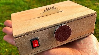 How to make table saw and sander machine 2 in 1 DIY