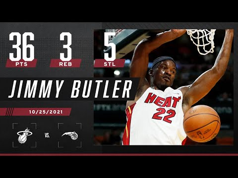 Jimmy Butler so EXPLOSIVE! 💥 ignites for 36 PTS, 3…