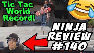 Ninja Review #140: Tic Tac WORLD RECORD!