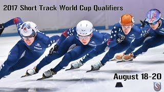 2017-18 Short Track World Cup Qualifiers - Day 3