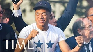 Kylian Mbappé On Winning The World Cup, His Role Models & More | Next Generation Leaders | TIME