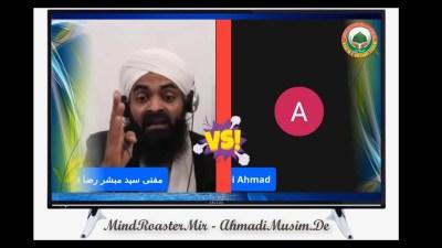 Muftri Mubashar Brailvi k talaffuz par aiteraz par tabsara – punjab ki urdu bolte waqt galtian