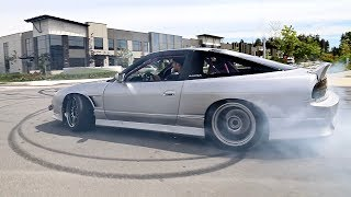 RB25-Powered S13 240sx   From Drift Missile to Street Slayer