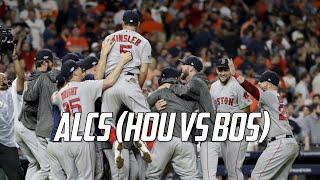 MLB | 2018 ALCS Highlights (HOU vs BOS)