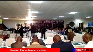 Tempers flare at tourism meeting