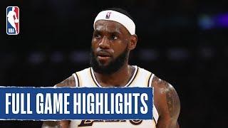 WARRIORS at LAKERS | Lakers Could Not Miss in Win | 2019 NBA Preseason