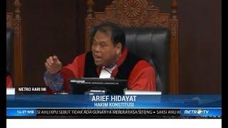 Hakim MK: Situng Bukan Penentu Suara Pilpres! (Sidang MK ke-III)