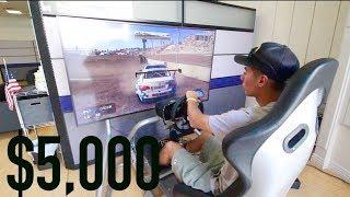 $5,000 VR Drifting Setup