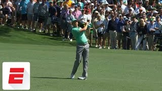 Sergio Garcia cards 13 on par-5 15th hole at Masters | ESPN