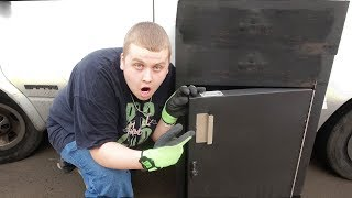 LOCKED SAFE!? WHATS INSIDE? I Bought An Abandoned Storage Unit! Storage Unit Finds