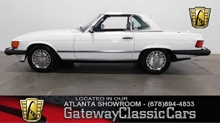 1988 Mercedes Benz 560 SL - Gateway Classic Cars of Atlanta #576