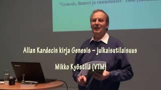 5.2.2017 Allan Kardecin kirja Genesis – julkaisutilaisuus