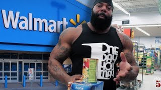 Get Big On A Budget: Walmart Grocery Shopping