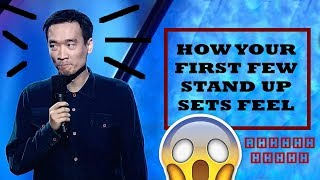 How the first few times doing stand up comedy feels like - Life of a Stand up Ep 4