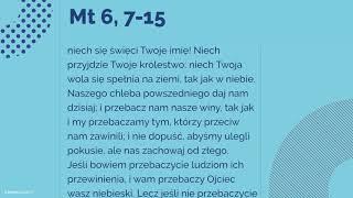 #Ewangelia   20 lutego 2018   (Mt 6, 7-15)