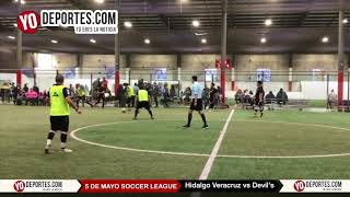 Hidalgo Veracruz vs. Devil's Final 2a Division Liga 5 de Mayo