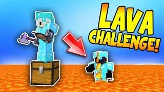 THE FLOOR IS LAVA! (Minecraft Trolling)