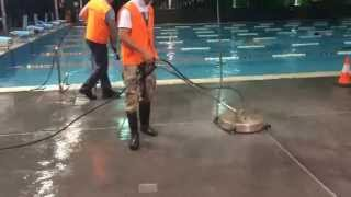 All the equipment, experience and skill to pressure clean and surface inside and out