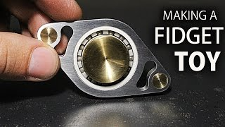 Making A Fidget Toy (Hand Spinner)   Shapeoko 3 CNC