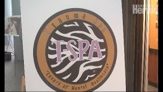 Photo exhibit to introduce Trauma Spa for families of homicide victims