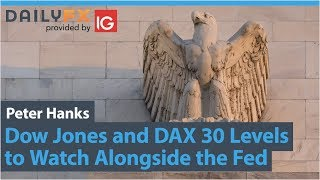 Dow Jones and DAX 30 Levels to Watch Alongside the Fed