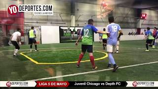 Juvenil Chicago vs Depth FC 5 de Mayo Soccer League