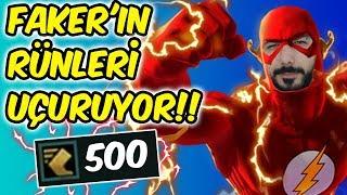 FAKER'IN RÜNLERİYLE EKKO MID UÇUYOR!! 500 MS TEKKO İLE FLASH GİBİ KOŞUYORUZ!! | KFCEatbox