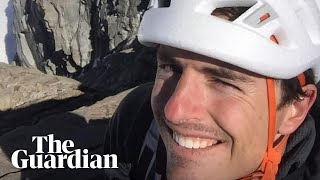 Brad Gobright remembers what drew him to rock climbing