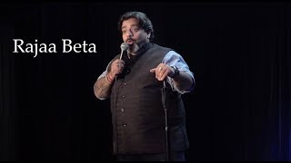 Rajaa Beta - Stand-Up Comedy by Jeeveshu Ahluwalia