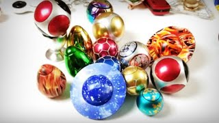 Round Ball Fidget Hand Spinners: Soccer Balls, Planets, Footballs, Eggs, etc!