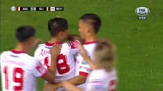 Argentinos 1 - 0 Olimpo El Gol La superliga 2018