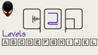 qop 2 A B C D E F G H I J K L (Minimal puzzle game)
