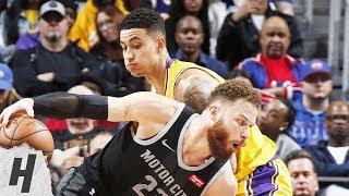 Los Angeles Lakers vs Detroit Pistons - Full Game Highlights   March 15, 2019   2018-19 NBA Season