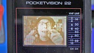 1990 Pocket Television Teardown!