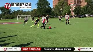 Deportivo Puebla vs. Chicago Stoners Liga Douglas