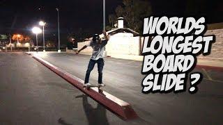 ANDY ANDERSON WORLDS LONGEST FRONTSIDE BOARDSLIDE ??? - NKA VIDS -