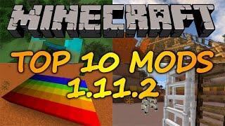 Top 10 Minecraft Mods (1.11.2) - April 2017