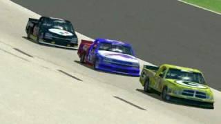 NFL Truck Racing(Joe Gibbs Raceway)