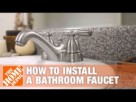 how to replace a bathroom faucet the