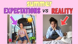 SUMMER Expectations vs Reality!! collab w/ The Irelynn Show