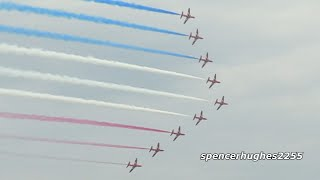 RAF Red Arrows Chicago Air & Water Show 2019